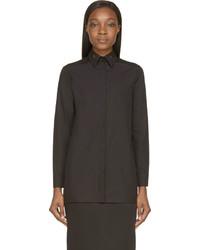 Camisa de vestir negra de Givenchy