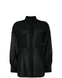 Camisa de vestir negra de IRO