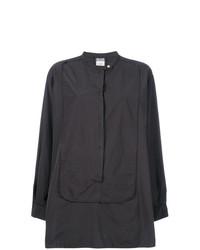 Camisa de Vestir Negra de Kristensen Du Nord