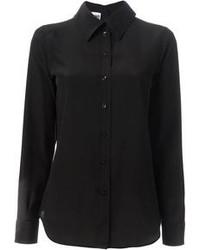 Camisa de vestir negra de Moschino