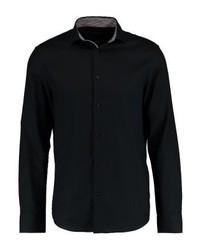 Camisa de Vestir Negra de Pier One
