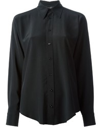Camisa de vestir negra de Ralph Lauren