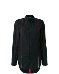 Camisa de Vestir Negra de Yang Li