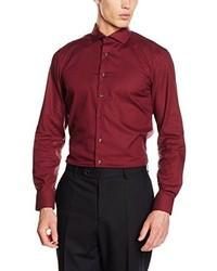 Camisa de vestir roja de Eterna Mode GmbH