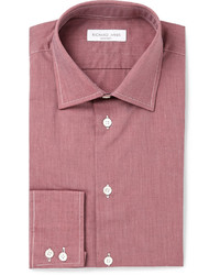 Camisa de vestir roja de Richard James