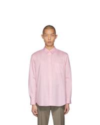 Camisa de vestir rosada de Comme Des Garcons SHIRT