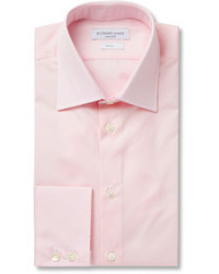Camisa de vestir rosada de Richard James