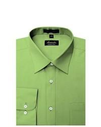 Camisa de vestir verde oliva