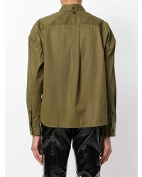 Camisa de vestir verde oliva de Rag & Bone