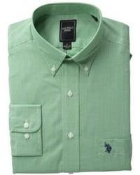 Camisa de vestir verde