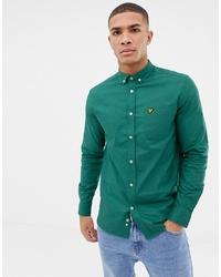 Camisa de vestir verde de Lyle & Scott