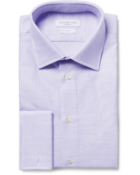 Camisa de vestir violeta claro de Richard James