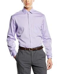Camisa de vestir violeta claro de Seidensticker
