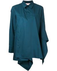 Camisa en verde azulado de Marni