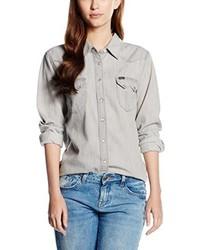Camisa gris de Lee