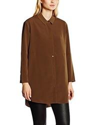 Camisa marrón de French Connection