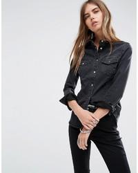 Camisa Negra de Asos