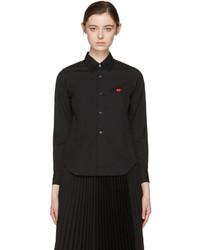 Camisa negra de Comme des Garcons