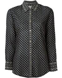 Camisa negra de Etoile Isabel Marant
