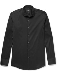 Camisa negra de Hugo Boss