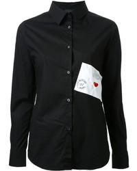 Camisa negra de Love Moschino