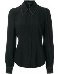 Camisa negra de Marc Jacobs