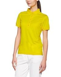 Camisa polo amarilla de James & Nicholson