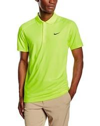 Camisa polo amarilla de Nike