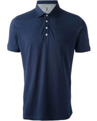 Camisa polo azul marino