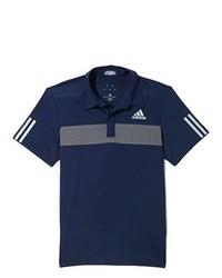 Camisa polo azul marino de adidas