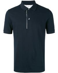 Camisa polo azul marino de Armani Collezioni