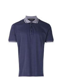 Camisa polo azul marino de Ermenegildo Zegna