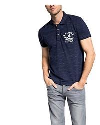 Camisa polo azul marino de Esprit
