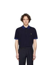 Camisa polo azul marino de Etro