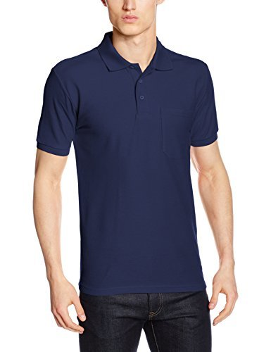 ... Camisa polo azul marino de Fruit of the Loom ... d723121fea390