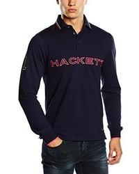 Camisa polo azul marino de Hackett London