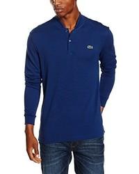 Camisa polo azul marino de Lacoste L!VE