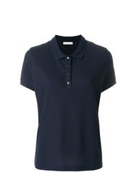 Camisa polo azul marino de Moncler