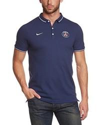 Camisa polo azul marino de Nike