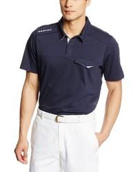 Camisa polo azul marino de Oakley