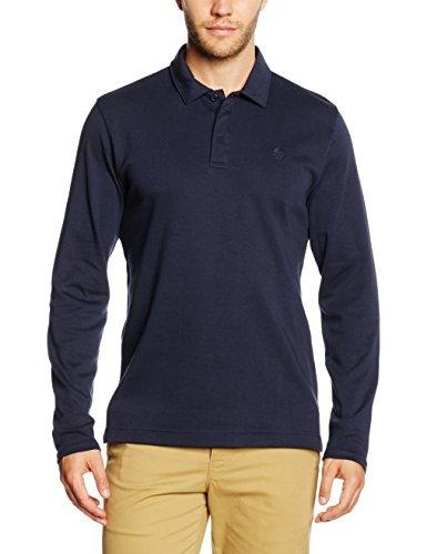 ede4151ea8bed ... Camisa polo azul marino de Perry Ellis ...