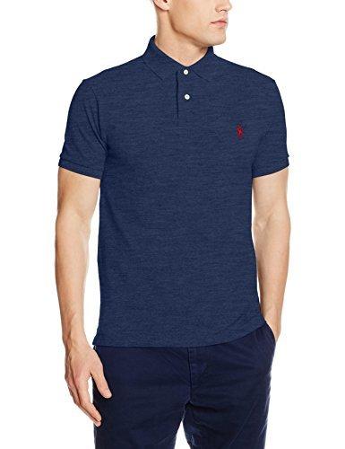 45e48db82a4f9 ... Camisa polo azul marino de Polo Ralph Lauren ...