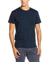 Camisa polo azul marino de Selected Homme