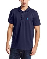 Camisa polo azul marino de Selected