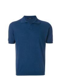 Camisa polo azul marino de Tagliatore