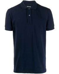 Camisa polo azul marino de Tom Ford
