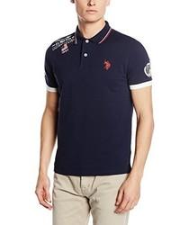 Camisa polo azul marino de US Polo Association