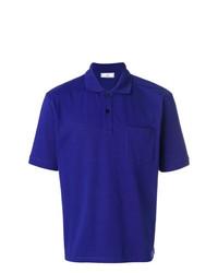 Camisa Polo Azul de AMI Alexandre Mattiussi