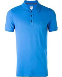 Camisa polo azul de Armani Collezioni