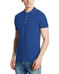 Camisa polo azul de Diesel